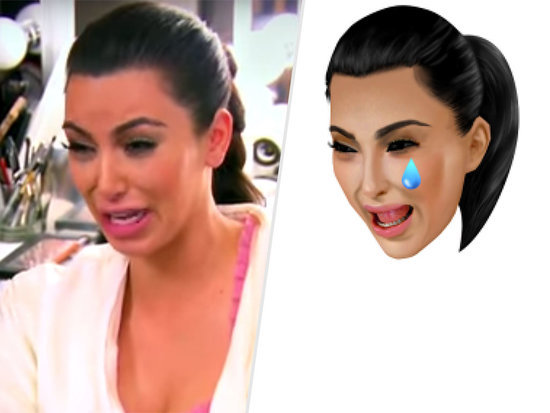 Keeping Up with Kimoji: See the Hilarious Reality TV Inspirations for Kim Kardashian's New Emojis