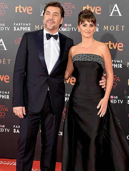 Gorgeous Couple Penélope Cruz and Javier Bardem Have a Black-tie Date Night at Goya Cinema Awards