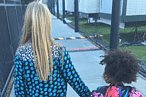 Apple Martin and Blue Ivy Carter Wore the Most Enviable Jackets at the Super Bowl