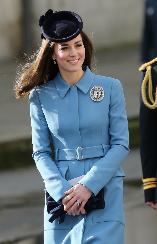 Kate middleton Duchess of Cambridge diamonds air cadets