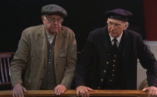 Bernie Sanders and Larry David on 'SNL' Were the Comedy Duo of Your Dreams (VIDEO)