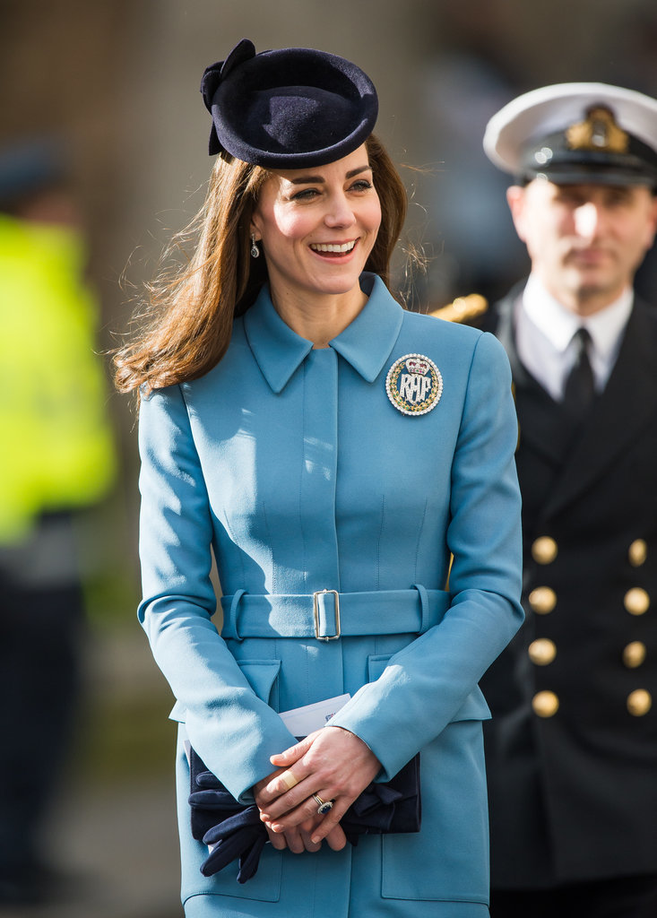 Kate Middleton is radiant at first event of Air Cadet ...