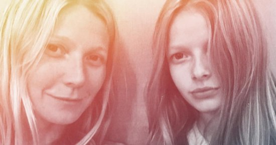 Gwyneth Paltrow Shares Stunning Selfie With Lookalike Daughter Apple
