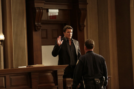 'Castle' Episode 8.10 Photos: Castle Takes the Stand and Kristoffer Polaha Returns