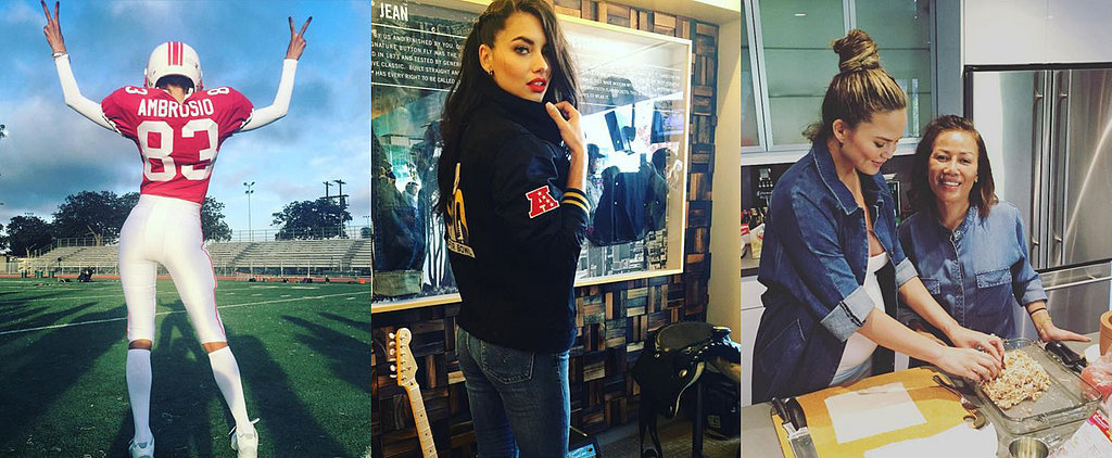 Candids: The Super Bowl Is Giving Us Major Outfit Envy