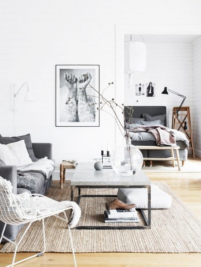 We'd Happily Spend All Winter In This Cozy, Textured Home