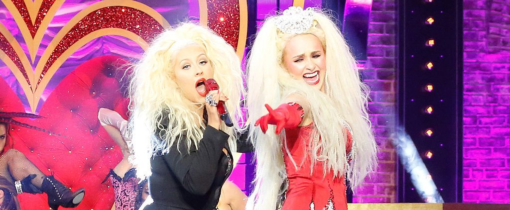 "Christina Aguilera and Hayden Panettiere Teaming Up to Sing ""Lady Marmalade"" Is a Thing of Beauty"