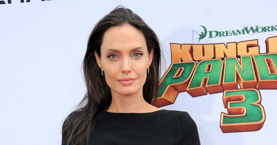 Angelina Jolie Adds A Few Massive Tattoos To Her Back