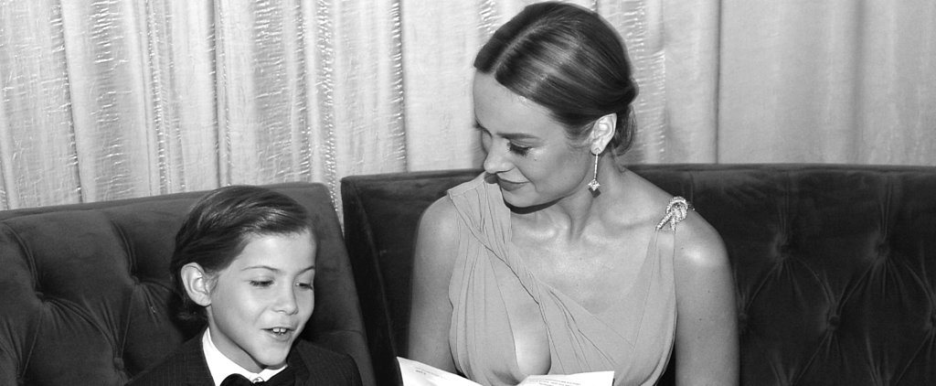 This Brie Larson Quote About Jacob Tremblay May Be the Nicest Thing Anyone Has Said About Anyone