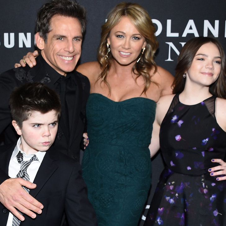 Ben Stiller and His Family at the Zoolander 2 Premiere ...
