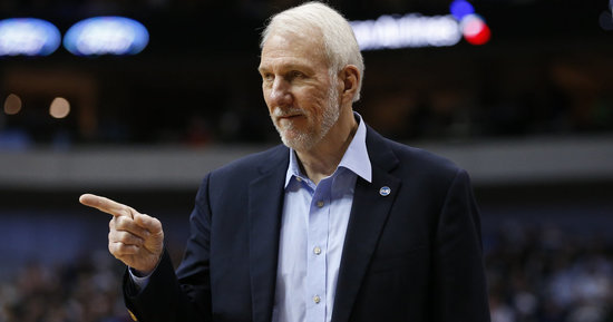 San Antonio Spurs Coach Gregg Popovich Had The Best Reaction To The New Hampshire Primaries