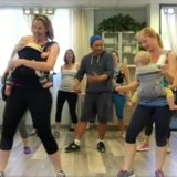 This Babywearing Dance Class May Just Be the Most Fun Mama Workout You've Ever Seen