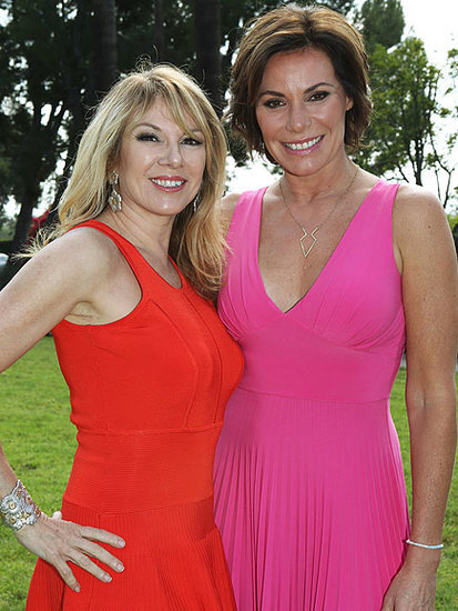Ramona Singer Says It's 'Funny' That LuAnn de Lesseps Is Engaged to Her Ex - But They 'Didn't Have Any Chemistry'