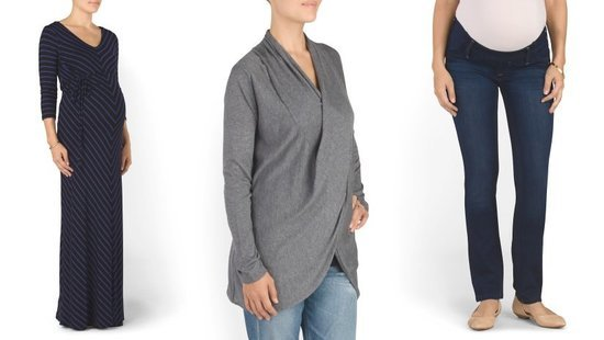 For A Limited Time Only, You Can Buy Discounted Designer Maternity Clothes At TJMaxx.com