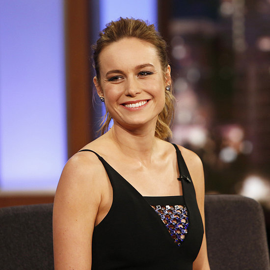 Brie Larson's David Koma Dress on Jimmy Kimmel Live