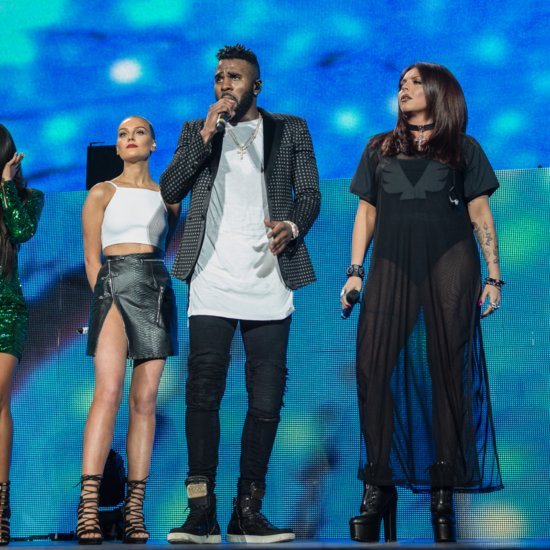 "Little Mix and Jason Derulo Pour Their Hearts Out For ""Secret Love Song"""