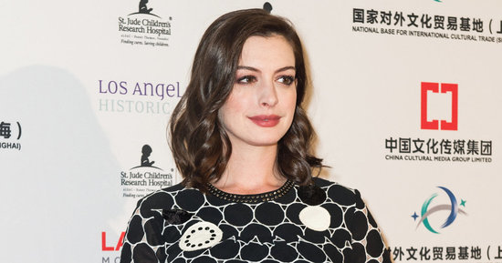 Anne Hathaway Debuts Blond Hair And Channels A 'Fashion Scarecrow'