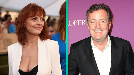 EXCLUSIVE: Susan Sarandon on Twitter Feud With Piers Morgan: He 'Has Way Too Much Time on His Hands'