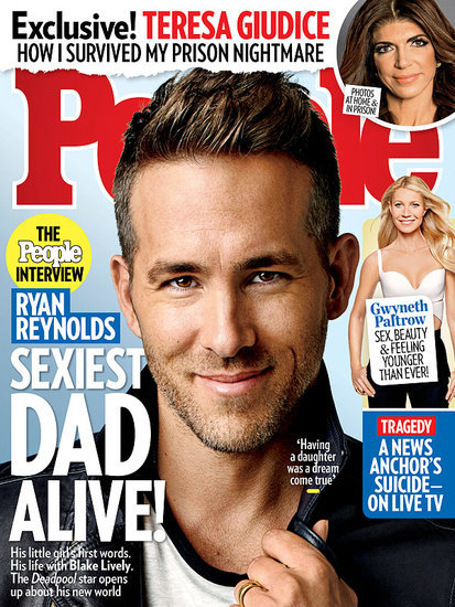 Sexiest Dad Alive! Ryan Reynolds Gets Personal About Fatherhood