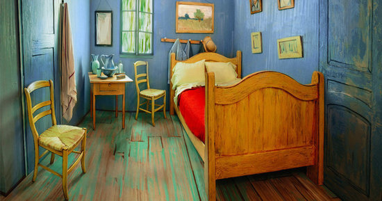 A Museum Recreated Van Gogh's Bedroom And Now You Can Rent It On Airbnb