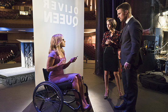 'Arrow' Episode 4.14 Photos: Drama at the Mayoral Debate