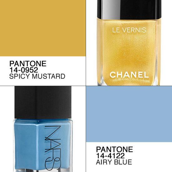 Manicure Ideas Via Fall 2016 Pantone Color Trends