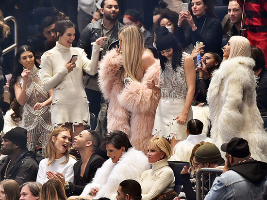 Kanye West Designed the Kardashians Clan's Clothes for Yeezy Season 3 and Album Launch (with a Little Help from Olivier Roustein