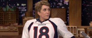 Jimmy Fallon Interviews Peyton Manning, Who Is Actually Kristen Wiig