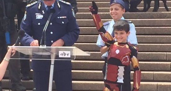 Watch Iron Boy's Wish Come True, Thanks to Robert Downey Jr.
