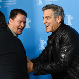 George Clooney and Channing Tatum at Berlin Film Festival
