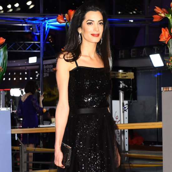 Amal Clooney's Black Gown at Hail, Caesar! Germany Screening