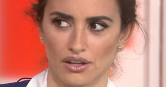 Penelope Cruz Is Appalled When Savannah Guthrie Asks About Her 'Ugly Feet'