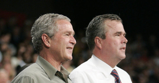 Bewildered By 2016 Race, George W. Bush Returns To The Trail To Boost Jeb