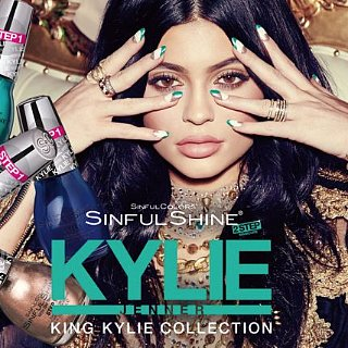 Kylie Jenner and SinfulColors Nail Polish