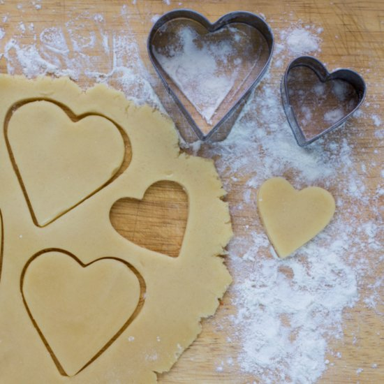 "Say ""I Love You"" With These Heart-Shaped Cookies"