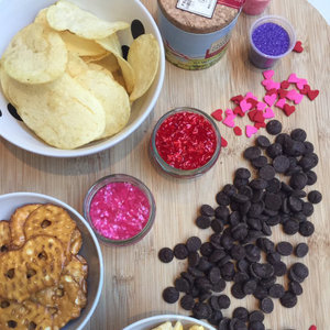 Giada de Laurentiis's Chocolate-Covered Chips Recipe