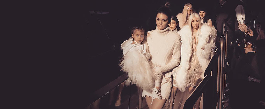 The Kardashian-Jenners Emerge in Full Force For Kanye West's Fashion Show