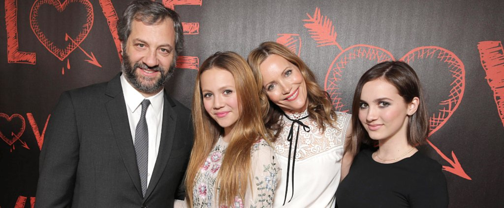Judd Apatow Was Completely Upstaged by His Gorgeous Family on the Red Carpet