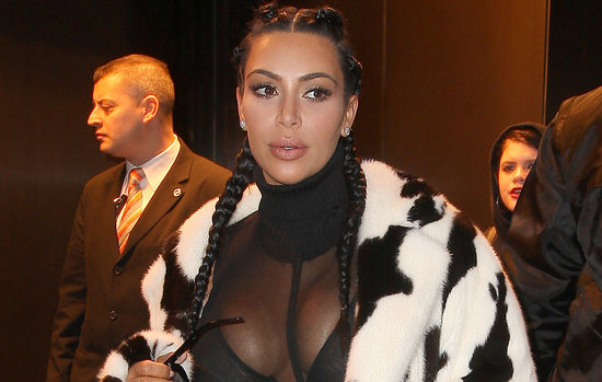 Kim Kardashian Killed It in a Hot Little Outfit at the Yeezy 3 Show (PHOTO)