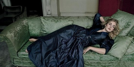 Take A Peak At Adele's Photos In This Spring's 'Vogue'