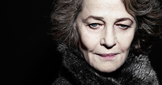 Charlotte Rampling on Beauty, Grief, and Aging