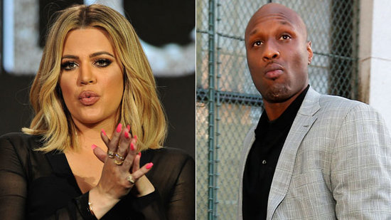 Khloe Kardashian Rocks Lamar Odom's Coat as the Family Returns to LA