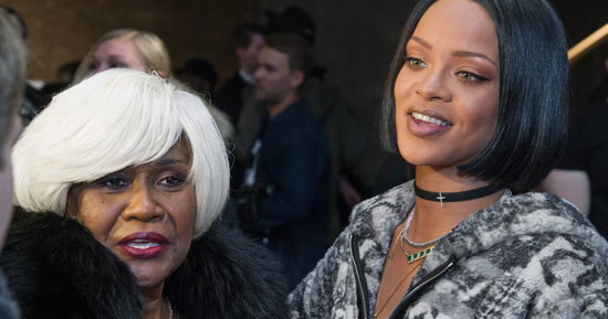 Rihanna's Mom Is the Coolest Mom at Fashion Week