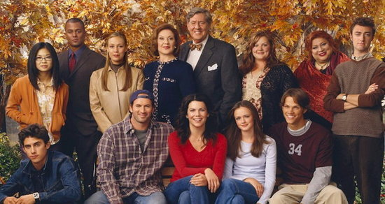 You May Have Missed Your First Peek at This Reunited 'Gilmore Girls' Couple