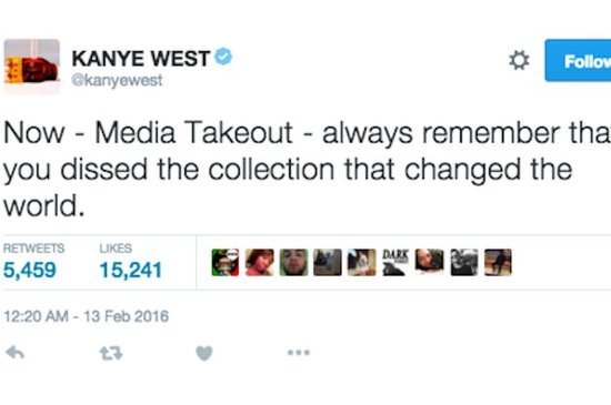 Kanye West Went On Yet Another Twitter Rant
