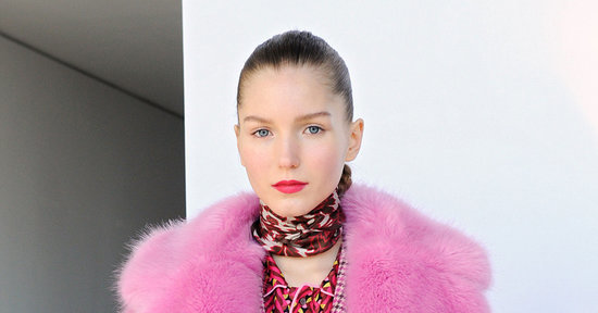 J.Crew Really Hit the Jackpot With This Pink Faux-Fur Jacket