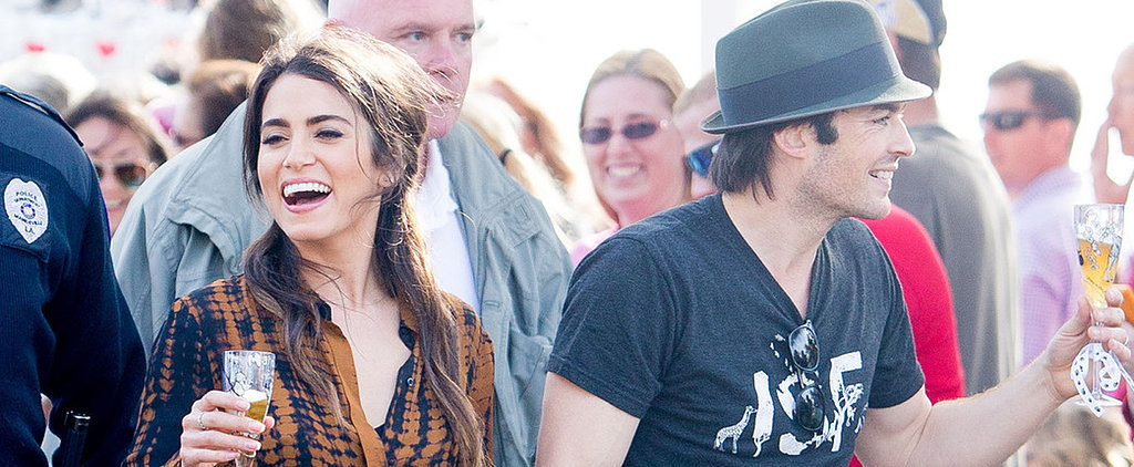 Ian Somerhalder and Nikki Reed Show Off Their Charitable Side and Kiss Dogs in Louisiana