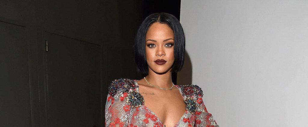Rihanna Goes Totally Sheer and Wears 1 Million Dollars Worth of Diamonds