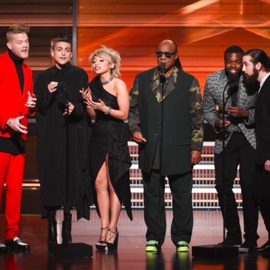 Pentatonix and Stevie Wonder's Grammys Performance 2016