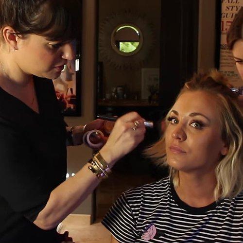 Kaley Cuoco's Makeup at the 2016 Grammy Awards